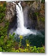 Snoqualmie Falls Metal Print by Chris Heitstuman