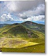 Snowdonia Panorama Metal Print by Jane Rix