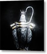 Solar Light At Midnight Metal Print by Marie Bulger