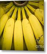 Some Fresh Bananas On A Street Fair In Brazil.. Metal Print