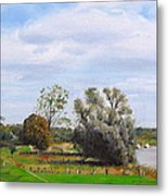 Somewhere In Holland Metal Print