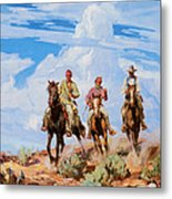Sons Of The Desert Metal Print