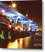 South Beach Bridge Metal Print