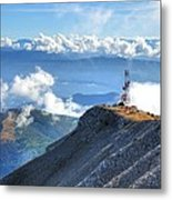 South France Alps Metal Print