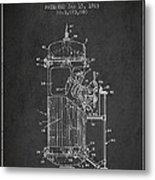 Space Capsule Patent From 1963 Metal Print by Aged Pixel