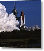 Space Shuttle Challenger  Metal Print by Retro Images Archive