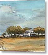 Spade Ranch South Camp Metal Print