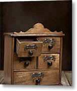 Spice Cabinet Metal Print