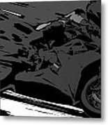 Sportbike Racer Metal Print
