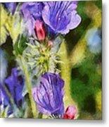 Spring Wild Flower Metal Print