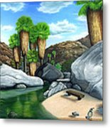 Springtime In The Canyons Metal Print