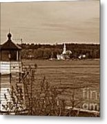 Squirrel Point Lighthouse Metal Print by Skip Willits