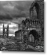 St Andrews Cathedral And Gravestones Metal Print
