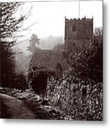 St Andrew's Church Clevedon Metal Print