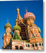 St. Basil's Cathedral - Square Metal Print