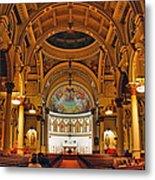 St. Leonard's Church....boston Metal Print
