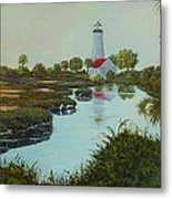 St. Marks Lighthouse Metal Print