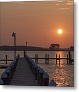 St Marys County Maryland Sunrise Metal Print