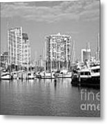 St Petersburg Yacht Basin Metal Print