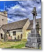 St Sannans Church Bedwellty 2 Metal Print