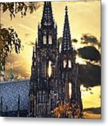 St Vitus Church In Hradcany Prague Metal Print by Jelena Jovanovic