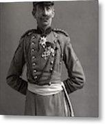 Stage German Officer Metal Print