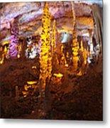 Stalactite Cave Metal Print