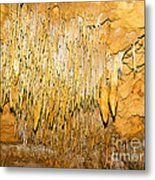 Stalactite Formations In Florida Metal Print
