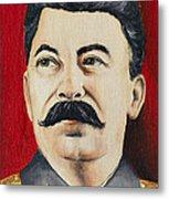 Stalin Metal Print