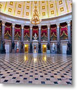 Statuary Hall Metal Print