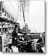Steamship 'great Eastern Metal Print