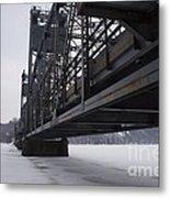 Stillwater Lift Bridge Metal Print