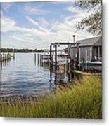 Stoney Creek Marina Metal Print