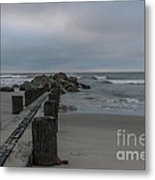 Storm Clouds Brewing Metal Print