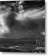 Storm Over The Kittitas Valley Metal Print