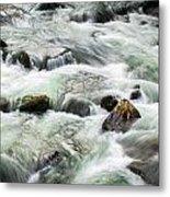 Stream Great Smoky Mountains  Metal Print