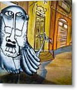 Street Art Valparaiso Metal Print