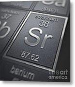 Strontium Chemical Element Metal Print