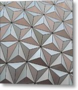 Sub Triangles Metal Print