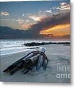 Sullivan's Island Sunset Metal Print