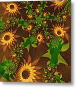 Summer's Last Sunflowers Metal Print