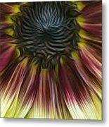 Sunflower In Oils Metal Print