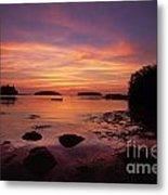 Sunrise At Tenants Harbor  Metal Print