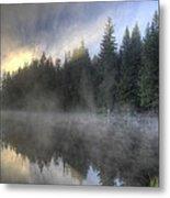 Sunrise At Trillium Lake Metal Print