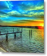 Sunset At The Cape Metal Print