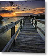 Sunset At Wildcat Cove Metal Print