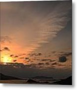 Sunset Blasket Islands Metal Print