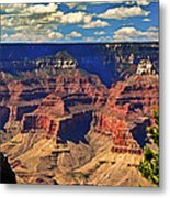 Sunset Grand Canyon Metal Print