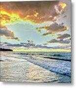 Sunset Over Lake Superior, Keweenaw Metal Print