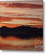 Sunset Over Lake Tahoe Metal Print